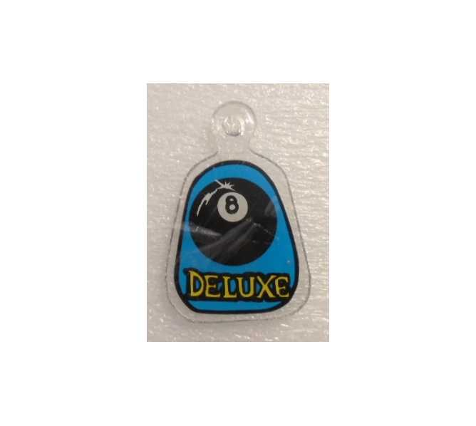 VEIGHT BALL DELUXE Original Pinball Machine Promotional Key Fob Keychain Plastic for sale by BALLY