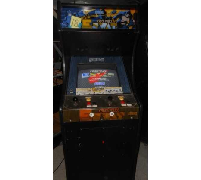 ESWAT CYBER POLICE Arcade Machine Game for sale