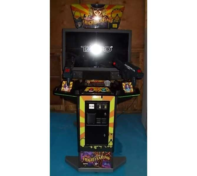 GLOBAL VR FRIGHTFEARLAND 42 inch Monitor Arcade Machine Game for sale