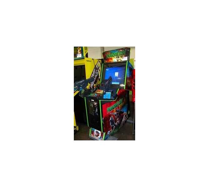 GLOBAL VR PARADISE LOST DELUXE DUAL UZI Arcade Machine Game for sale