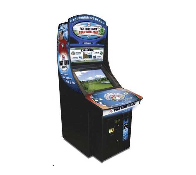 GLOBAL VR PGA Golf Team Challenge 27 Courses/485 HOLE Arcade Machine Game for sale