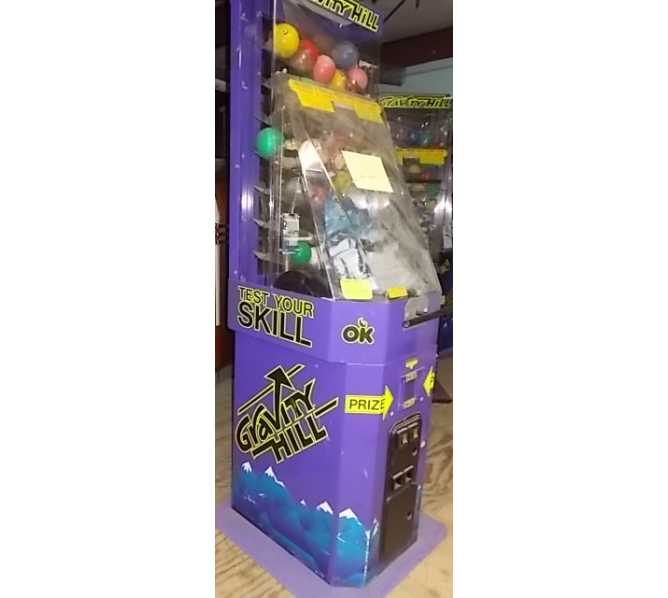 GRAVITY HILL Toy Capsule & Small Plush Redemption Arcade Machine Game by OK Manufacturing for sale