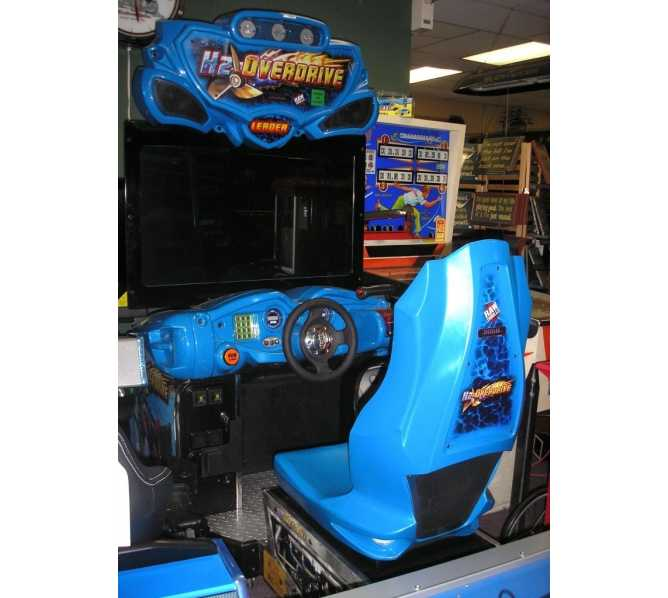 """H2 OVERDRIVE 42"""" HI DEF LCD Sit-Down Arcade Machine Game for sale by RAW THRILLS"""