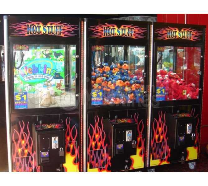 HOT STUFF CRANE Arcade Machine Game for sale