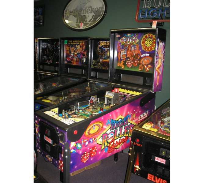 STERN HIGH ROLLER CASINO Pinball Game Machine for sale