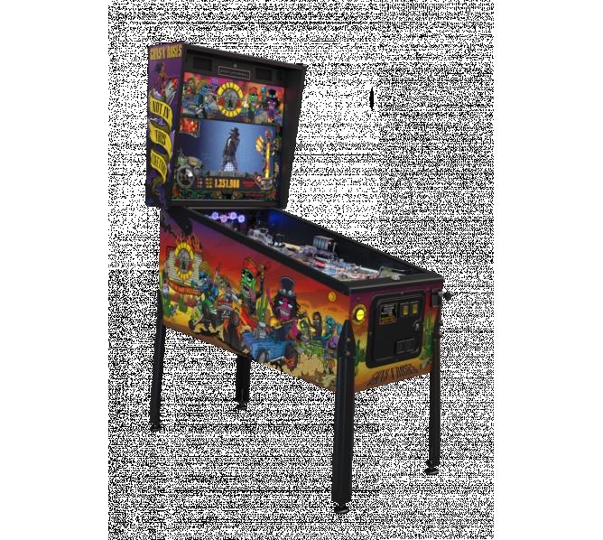JJP GUNS 'N ROSES STANDARD Pinball Game Machine for sale