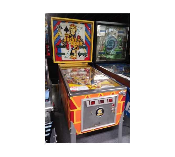 MYLSTAR JACKS TO OPEN Pinball Machine Game for sale