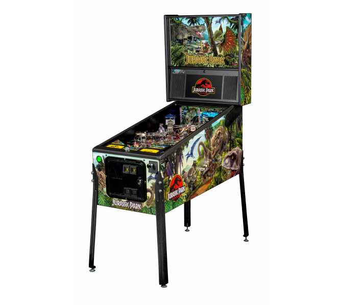 STERN JURASSIC PARK PRO Pinball Game Machine for sale
