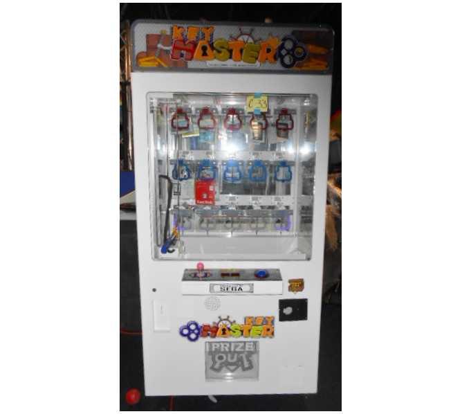 KEY MASTER Redemption Arcade Machine Game for sale by SEGA
