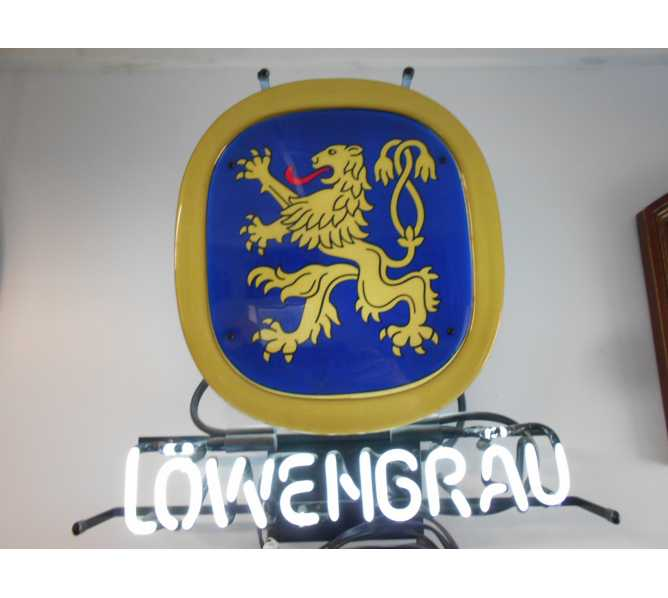 Lowenbrau Neon Advertising Promotion Electric Bar Sign For Sale