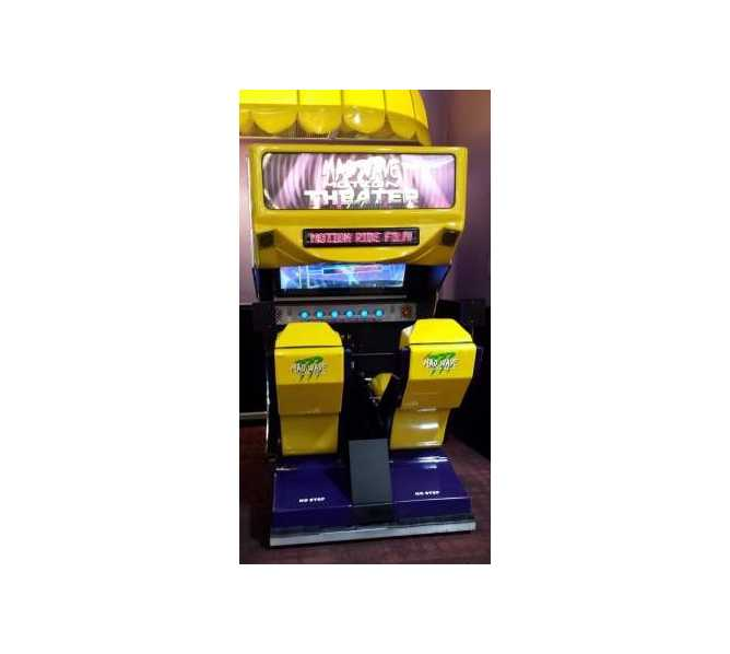 MAD WAVE MOTION THEATER Sit-Down Arcade Machine Game for sale by TRIOTECH AMUSEMENT