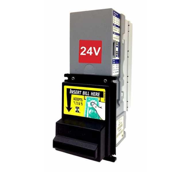MARS MEI VN 2512 MDB Dollar Bill Validator Acceptor Changer DBA -24v Flash Port - $1s only