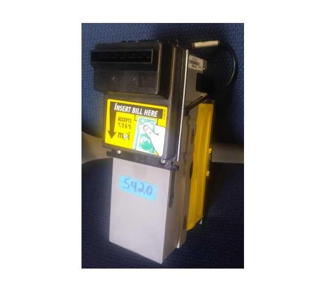 MARS Mei AE 2451 U3 AE2451 110V 115V $1 & New $5 Dollar Bill Validator Acceptor Changer DBA