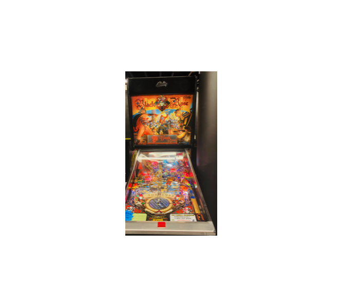 MIDWAY BLACK ROSE Pinball Machine Game for sale