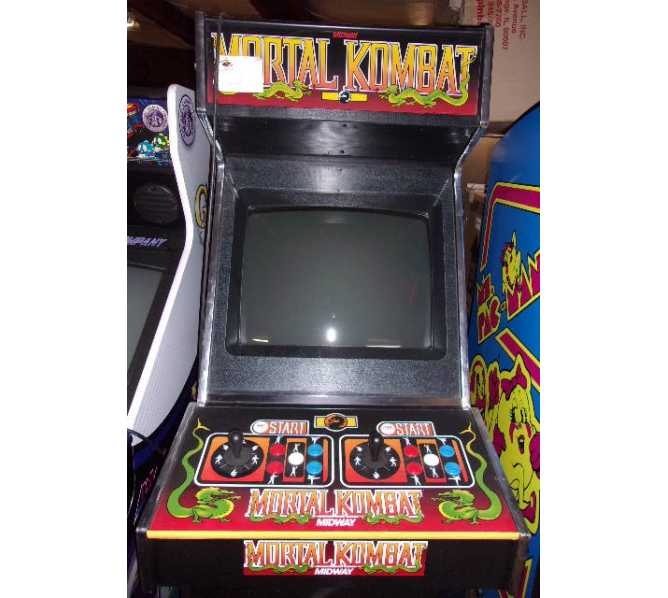 MIDWAY MORTAL KOMBAT Upright Video Arcade Machine Game for sale