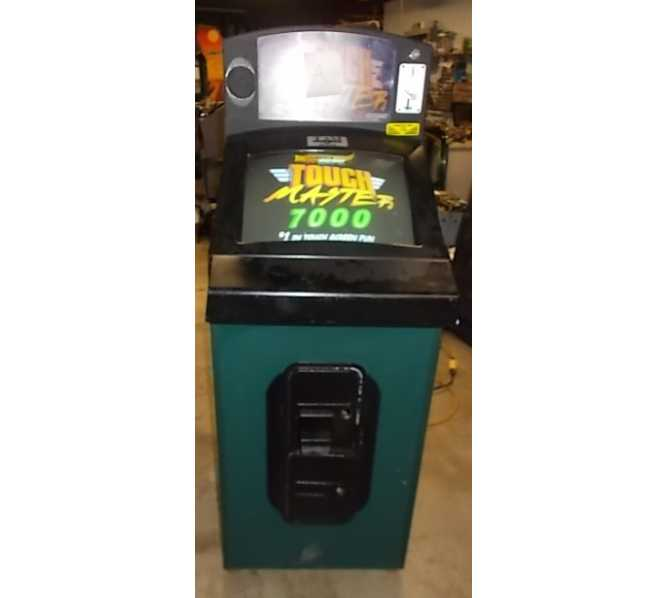 MIDWAY TOUCHMASTER 7000 Multi Game Upright Arcade Machine Game for sale