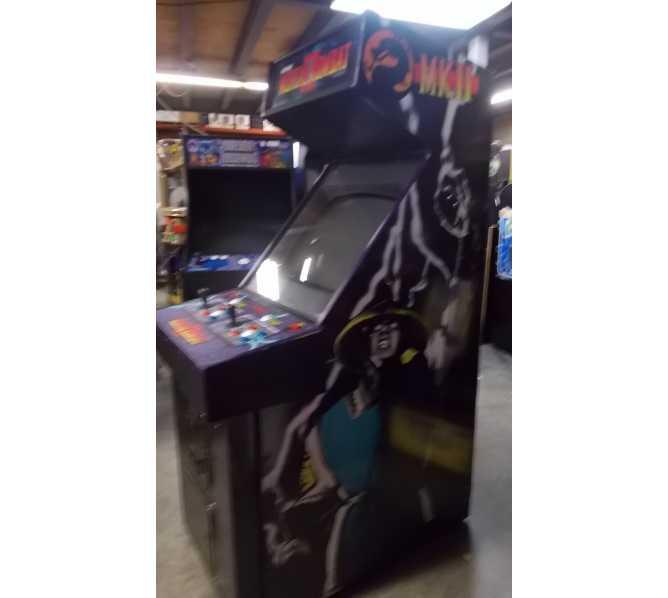 MORTAL KOMBAT II Upright Video Arcade Machine Game by Midway - MORTAL KOMBAT HAS MET ITS MATCH