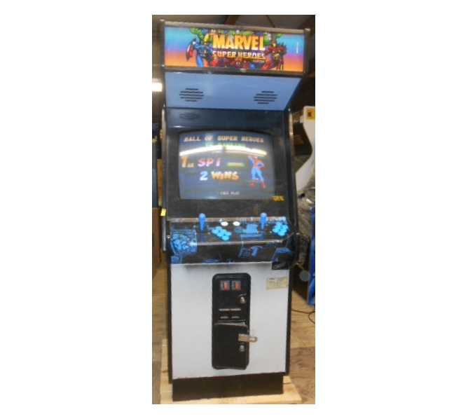 "MARVEL SUPER HEROES 25"" Arcade Machine Game for sale by CAPCOM"