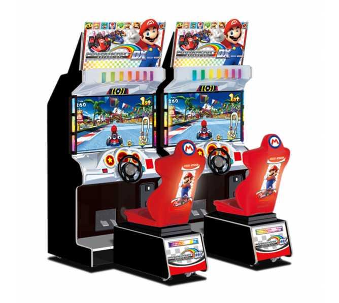 NAMCO MARIO KART GP DX Sit-Down Arcade Machine Game for sale
