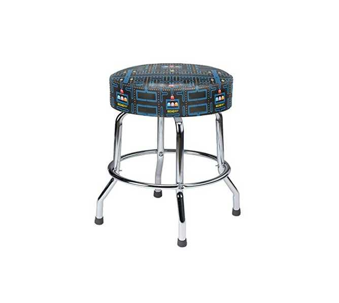 "NAMCO PAC-MAN 19"" HIGH BAR STOOL for sale"