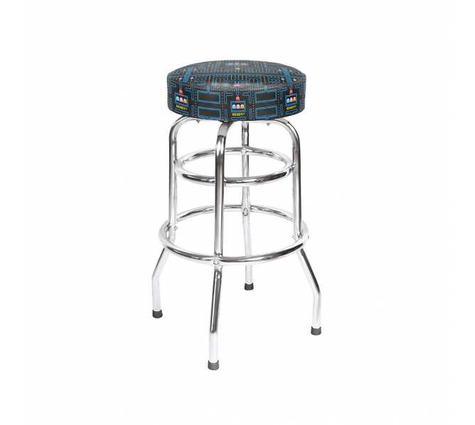 "NAMCO PAC-MAN 30"" HIGH BAR STOOL for sale"