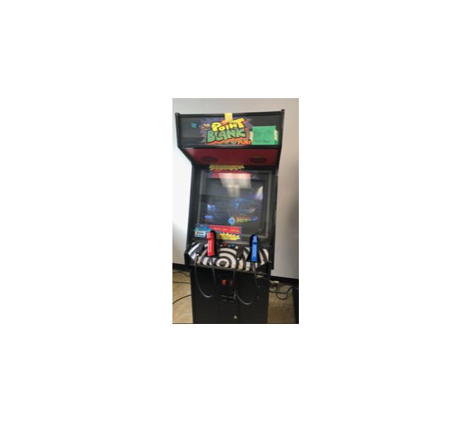 "NAMCO POINT BLANK 1 ""SHOOT 'EM UP"" Upright Arcade Game"