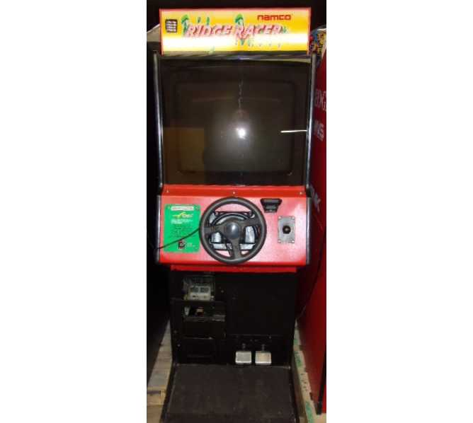 NAMCO RIDGE RACER Upright Arcade Machine Game for sale