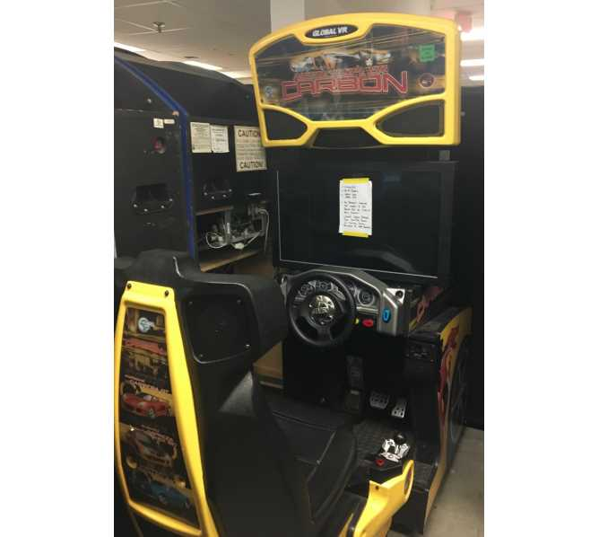 """NEED FOR SPEED CARBON 32"""" SIT-DOWN DRIVER Arcade Machine Game for sale"""