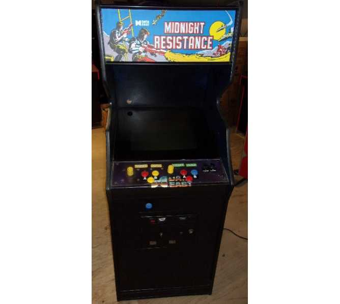 NIHON BUSSAN AV JAPAN MIDNIGHT RESISTANCE Arcade Machine Game for sale