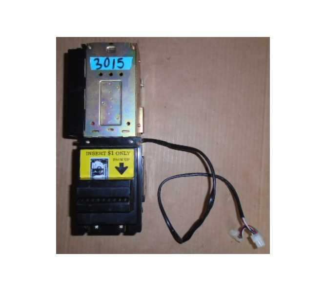 NIPPON CONLUX MKA-2141-11 Dollar Bill Validator Acceptor Changer DBA for sale