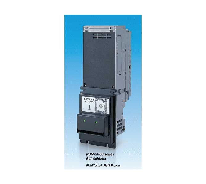 NIPPON CONLUX NBM-3110 or NBM-3120 MDB 34V 24V $1 & New $5 Dollar Bill Validator Acceptor Changer DBA
