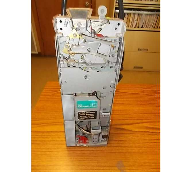 National EM Replacement/Compatible Coin Mech Changer Acceptor