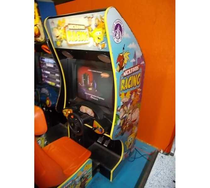NICKTOONS RACING Sit-Down Arcade Machine Game for sale