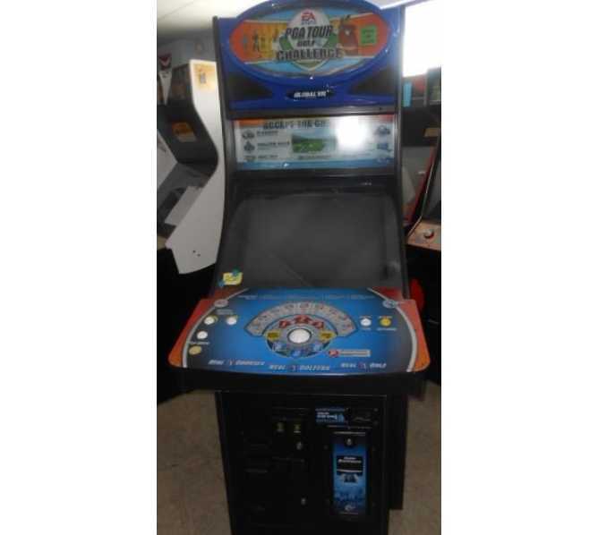 PGA GOLF CHALLENGE TOURNAMENT Arcade Machine Game for sale by EA SPORTS