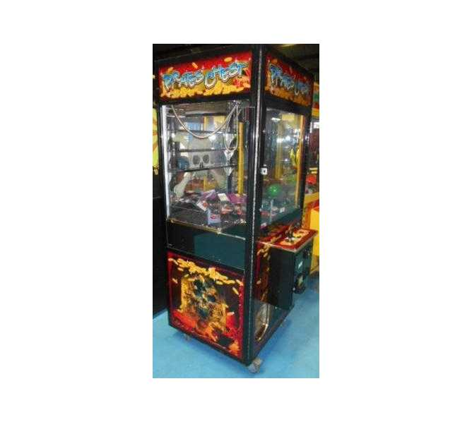 PIRATES CHEST Crane Redemption Arcade Machine Game for sale by SMART
