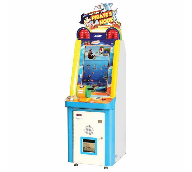 PIRATES HOOK Redemption Arcade Machine Game for sale by UNIS