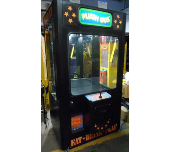 PLUSH BUS Redemption Merchandiser Arcade Machine Game for sale by ICE