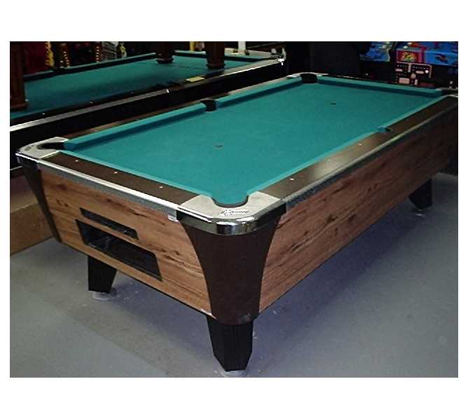 Pool Table 6 Or 7 Commercial Coin Operated Great