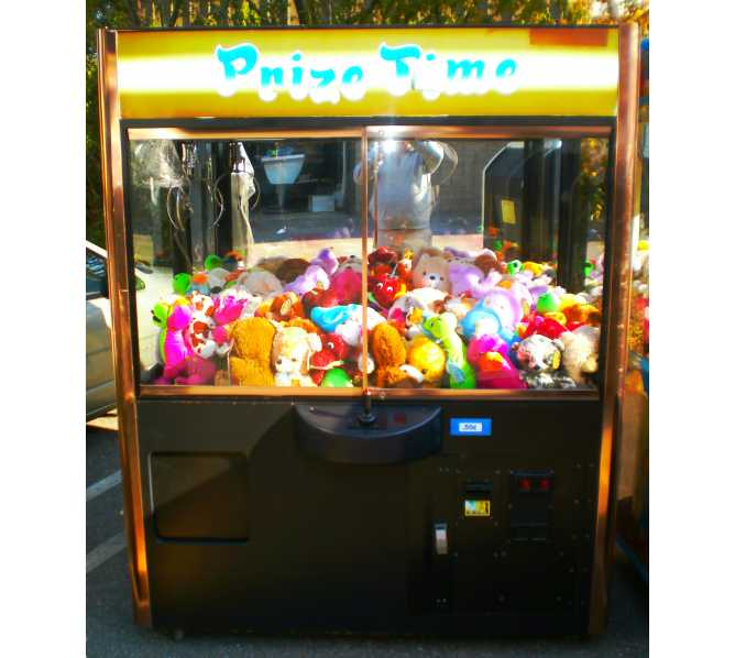 """PRIZE TIME 60"""" SINGLE CRANE Arcade Machine Game by SMART INDUSTRIES"""