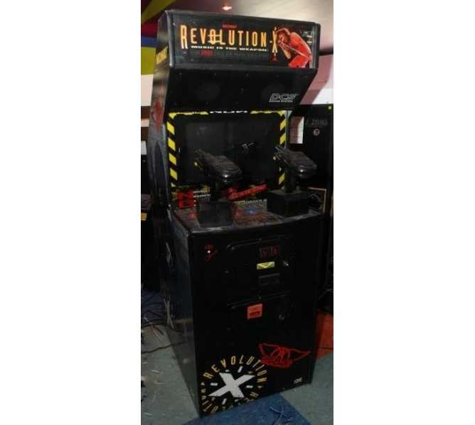 REVOLUTION X Upright Arcade Machine Game by MIDWAY for sale
