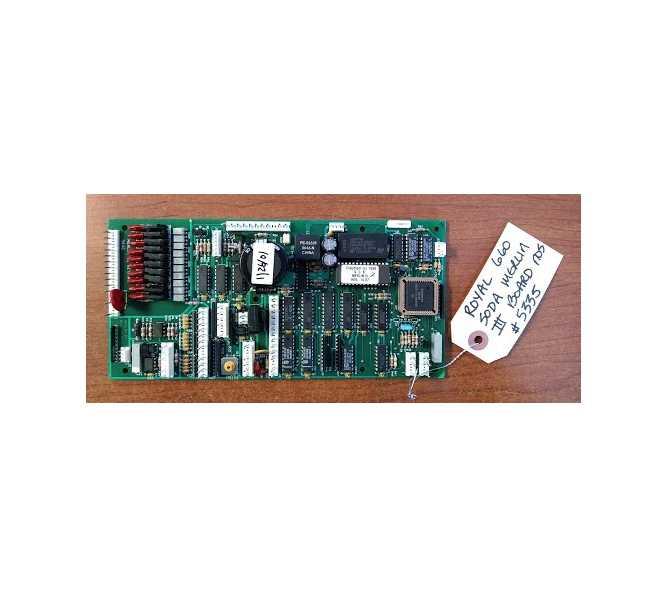 ROYAL 660 SODA Vending Machine PCB Printed Circuit MERLIN
