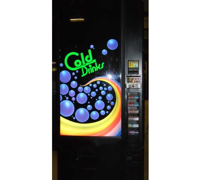 Royal, Royal Vendors 282, RVCD 282-6, Merlin 6 SELECTION Can SODA COLD DRINK Vending Machine for sale