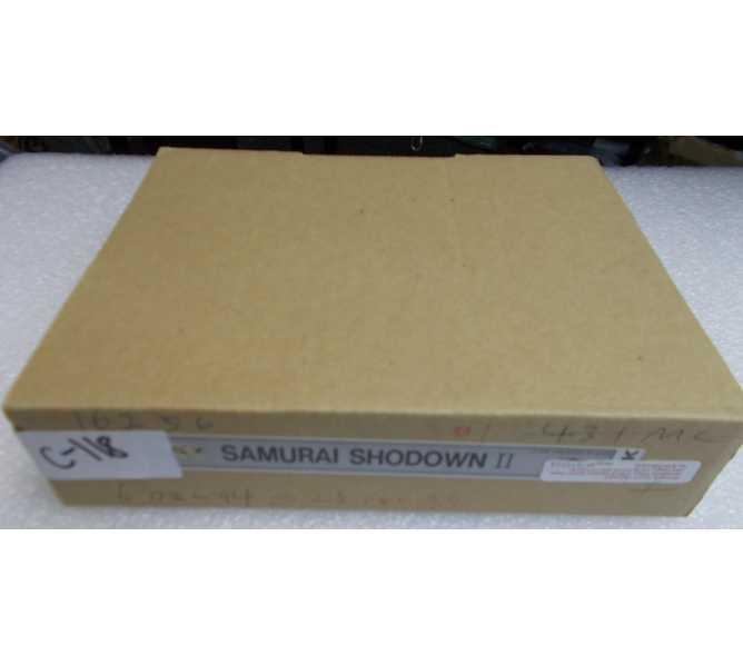 SAMURAI SHODOWN II Arcade Machine Game Neo Geo Cartridge for sale - SNK - NEW IN BOX
