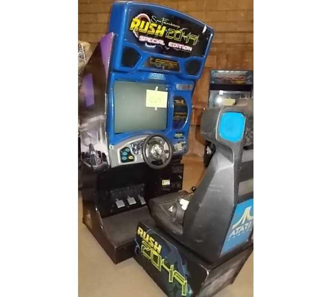 SAN FRANCISCO RUSH 2049 SPECIAL EDITION Sit-Down Arcade Machine Game by ATARI