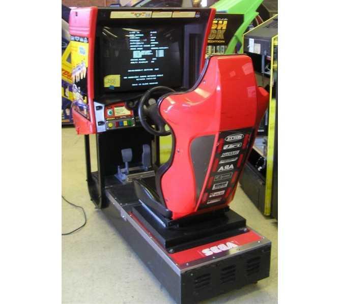 SCUD RACE by SEGA Arcade Machine Game for sale by SEGA