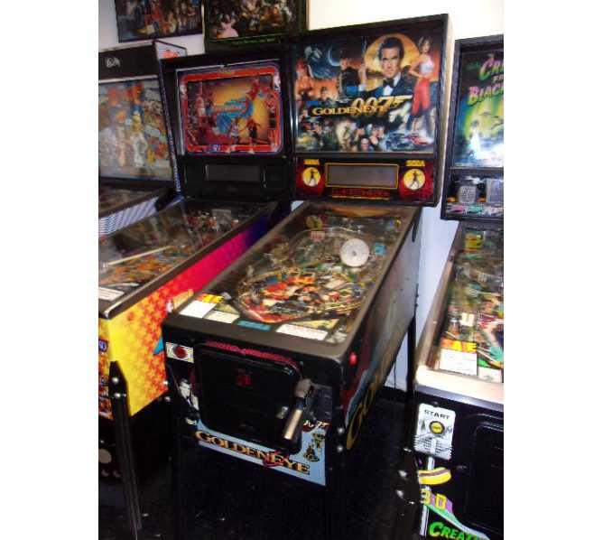 SEGA GOLDENEYE Pinball Machine Game for sale