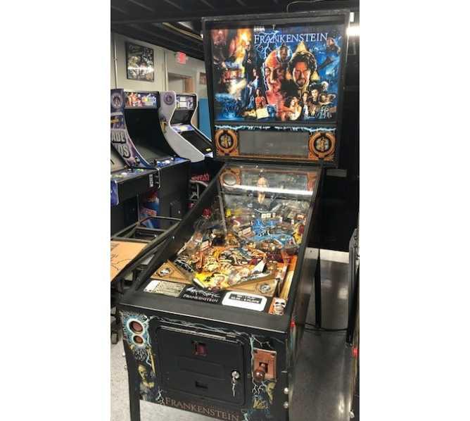 SEGA Mary Shelley's Frankenstein Pinball Machine Game for sale