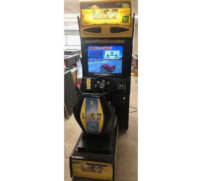 SEGA OUTRUN 2 Sit-Down Arcade Machine Game for sale