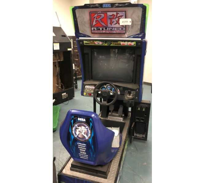SEGA R-TUNED Sit-Down Arcade Machine Game for sale