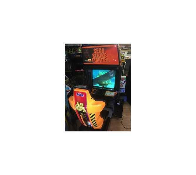 SEGA STRIKE FIGHTER Sit-down Arcade Machine Game for sale